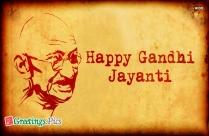 Happy Gandhi Jayanti Hd Wallpaper