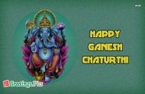 happy ganesh chaturthi greetings images