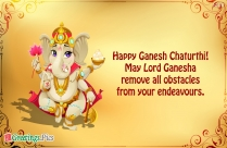 Happy Vinayaka Chaturthi To All