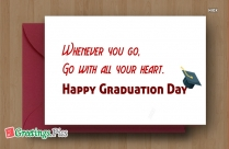 Happy Graduation Dear