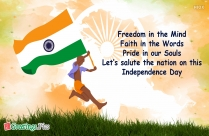 Happy Independence Day India Quotes In English