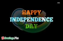 Happy Independence Day India Tricolor