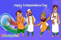 Jai Hind Greeting Picture