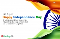 India Independence Day Greeting With Message