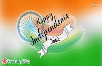 Happy Independence India