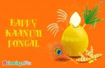 Happy Kaanum Pongal Greetings