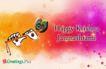 Happy Krishna Janmashtami 2019