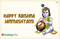 Happy Krishna Janmashtami Hd