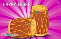 Happy Lohri Greetings Cards, Images