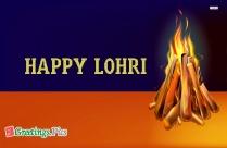 Happy Lohri Creative