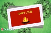 Happy Lohri Vector