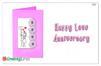 Happy Love Anniversary Love Status for Whatsapp