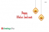 Happy Makar Sankranti Card