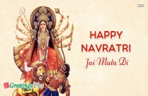 navratri greeting cards