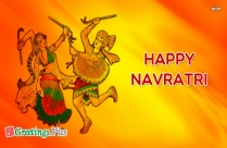 happy navratri greeting message