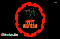 Good Night And Advance Happy New Year Image
