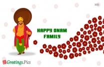 Happy Onam Hd Wallpaper