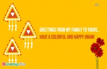 Happy Onam Cute Greetings