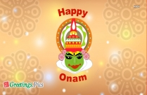 Happy Onam Good Morning