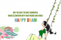 Happy Onam Wishes Quotes