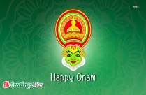 Happy Onam Wish