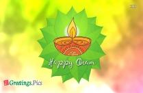 Happy Onam Kathakali