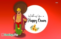 Happy Onam Wife