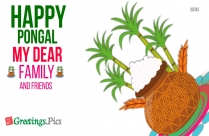 Happy Pongal Greetings 2019