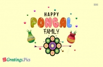 Happy Pongal Clipart Tamil Festival Greeting Image