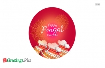 Happy Pongal Cartoon