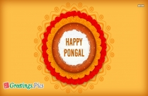 Pongal Greetings Card Images