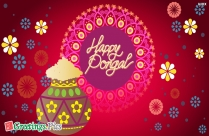 Happy Pongal Wishes Wallpaper