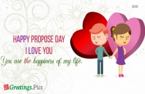Happy Propose Day Message