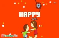 Greetings For Raksha Bandhan In Hindi