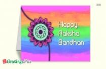 Raksha Bandhan Greetings For Brother