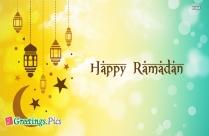 Happy Ramadan Mubarak Greeting Card