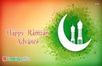 Happy Ramzan Mubarak