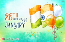 Thumbs Up Happy Republic Day Greeting Image