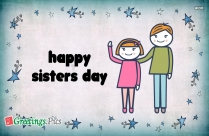 Happy Sisters Day Wallpaper
