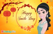 Happy Smile Day Greeting