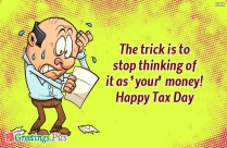 Happy Tax Day Wishes Picture
