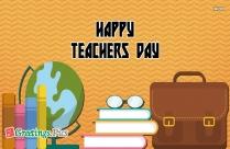 happy teachers day greeting card easy