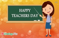 Happy Teachers Day Greeting Cards