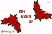 Happy Teachers Day Design Card
