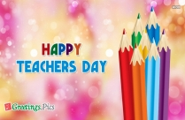 happy teachers day greeting card quotes