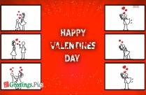 Happy Valentines Day Pink