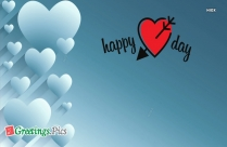 Happy Valentines Day Baby