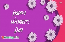 Wish U Happy International Women