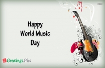 Happy World Music Day