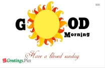 Happy Sunday Greetings